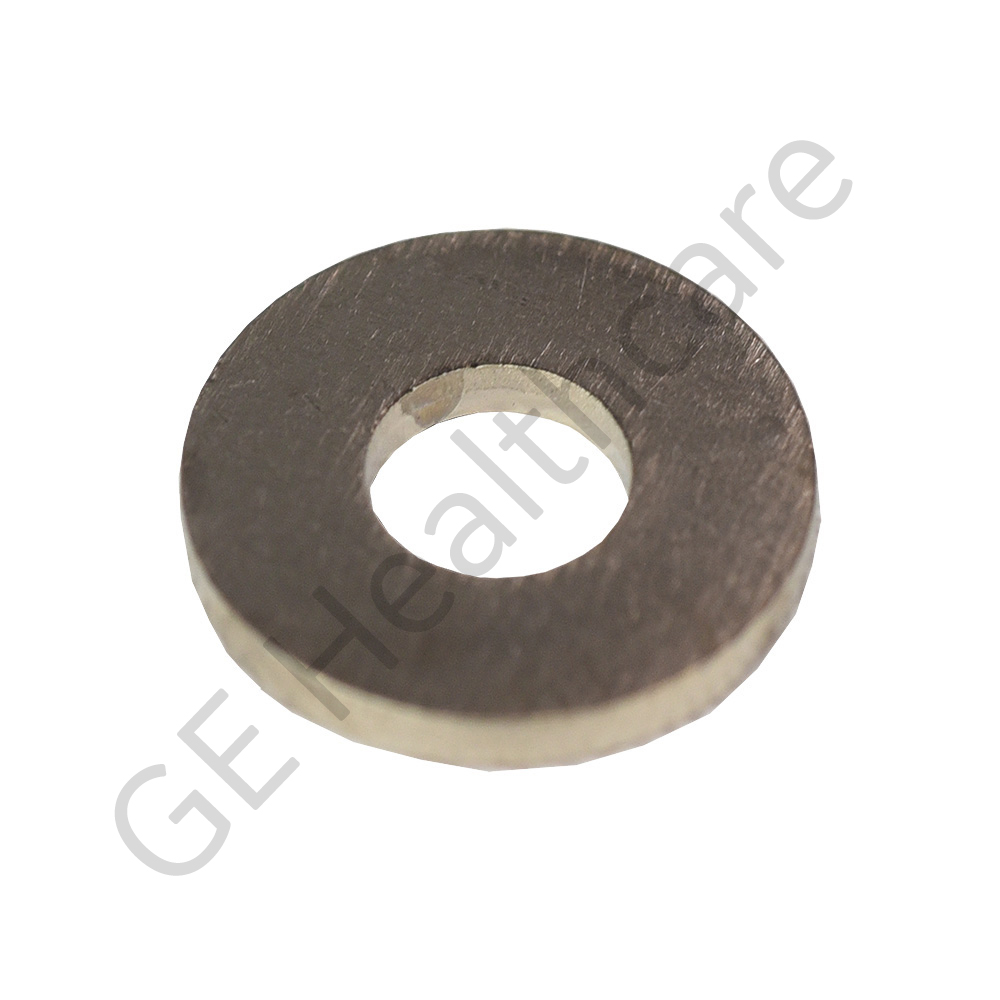 Washer 0.193 ID x 0.500 OD x 0.040 Brass with Nickel