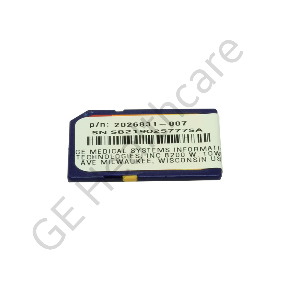 Programmed SD Card MAC5500/MAC 3500V9D