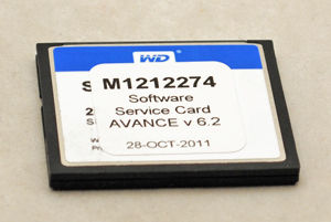 Software Avance Service Card 6.20
