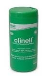 Clinell Universal Wipes.  Tub of 100