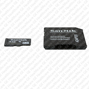 Memory Card - 4GB SD Card Standard and Dual Probe