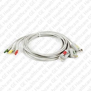 Patient Lead Wire Kit Yellow Red and Green Colors